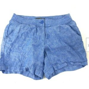 Tommy Bahamas Blue Linen Shorts Size 2 Small (g6)